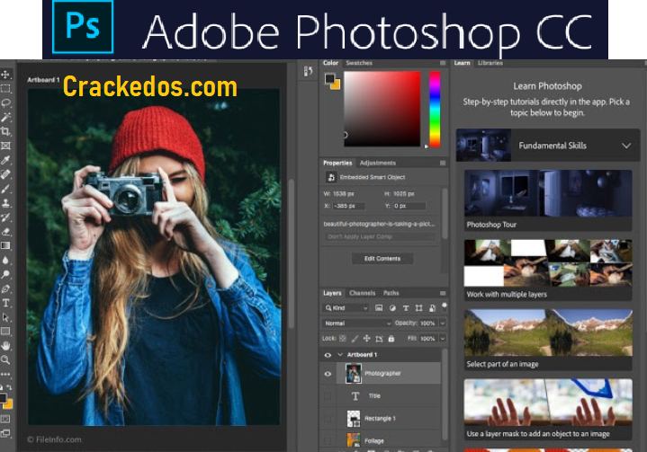 Adobe Photoshop CC Crack 2021 22.1.0.94 Full License Key