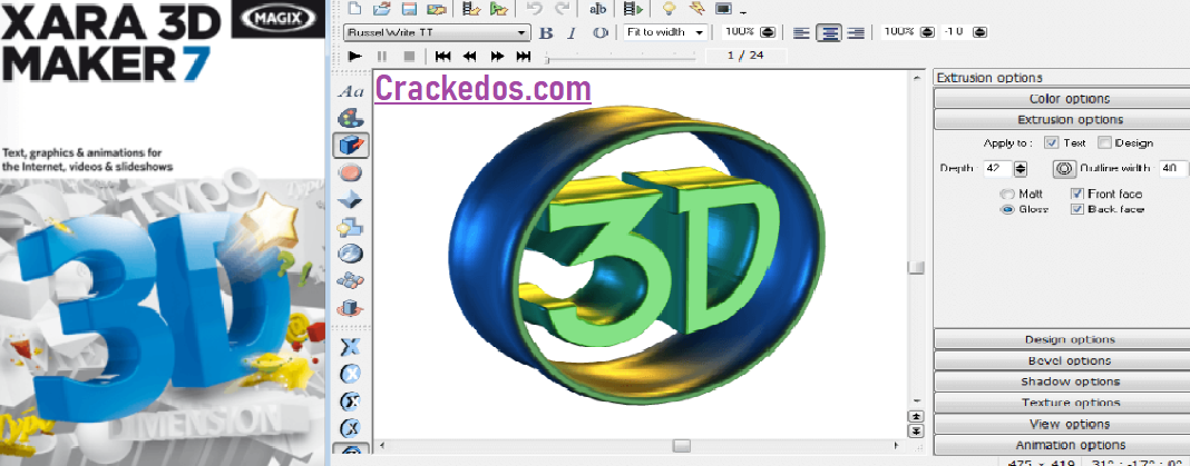 Xara 3D Maker 7 Crack And Keygen Full Setup Download 2020