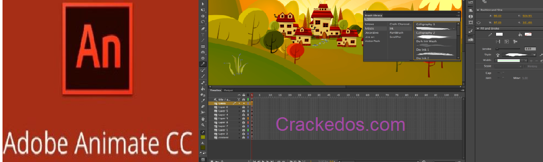 Adobe Animate CC 2021 Crack 21.0.3.38773 Final Torrent Latest