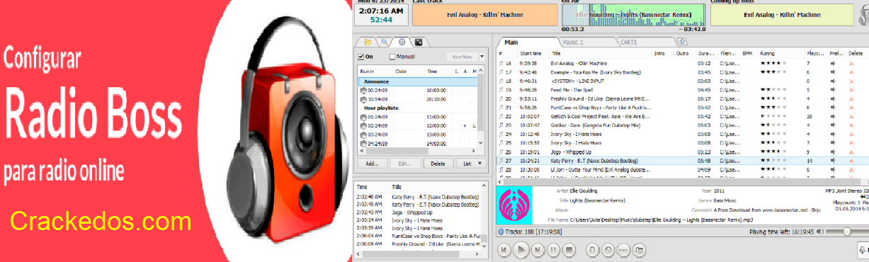 RadioBoss 6.0.5.2 Crack Full Download + Serial Keygen Free